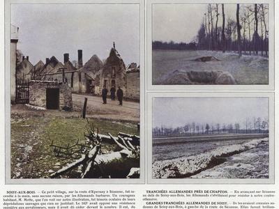 Soisy-Aux-Bois, Tranchees Allemandes Pres De Chapton, Grandes Tranchees Allemandes De Soisy