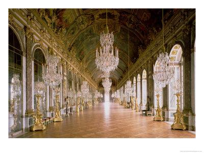 The Galerie Des Glaces 1678