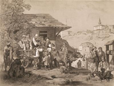 Bulgarians Near Varna, Printed by Lemercier, Paris