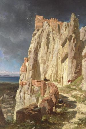 The Rock of Vann, Kurdistan, 1901