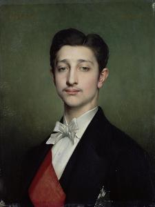 Eugene-Louis-Napoleon Bonaparte (1856-79) 1874 by Jules Joseph Lefebvre