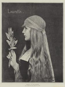 Lauretta by Jules Joseph Lefebvre