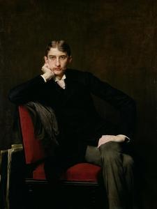 Portrait of M. Fitzgerald, 1889 by Jules Joseph Lefebvre