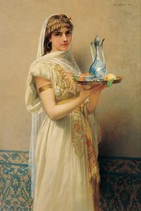 Servant, 1880 by Jules Joseph Lefebvre