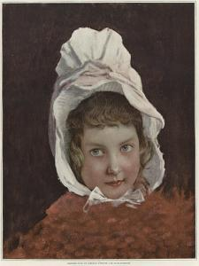 Sketch for a Portrait of a Child by Jules Joseph Lefebvre