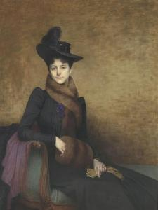 Yvonne by Jules Joseph Lefebvre