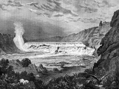 Grand Falls, Missouri River, USA, 19th Century