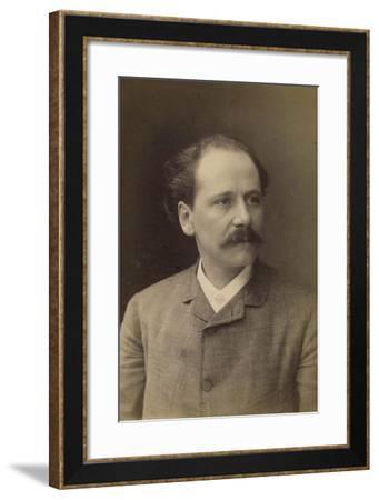 Jules Massenet, French Composer, Late 19th Century-Felix Nadar-Framed Photographic Print