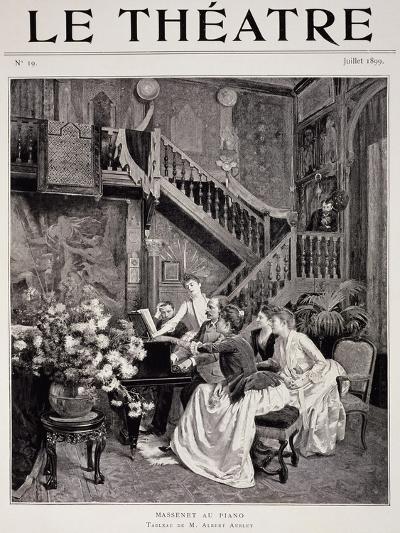 Jules Massenet--Giclee Print