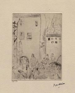 016 - Le drame by Jules Pascin