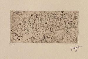 066 - On the South by Jules Pascin