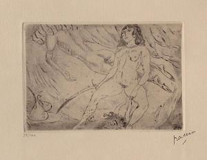 111 - Judith et Holopherne by Jules Pascin