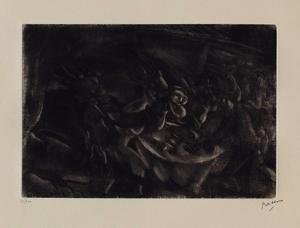 143 - Le festin by Jules Pascin