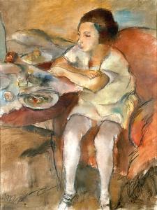 Breakfast by Jules Pascin
