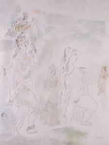 Female Nudes by Jules Pascin