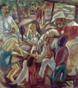 Good Samaritan by Jules Pascin