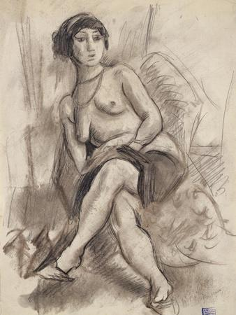 Seated Nude Model, C.1925-26