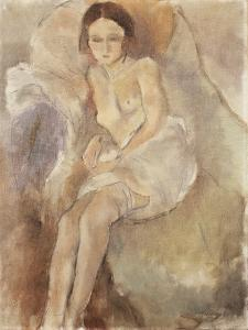 Seated Woman, C.1925-30 by Jules Pascin