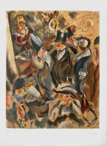 Soiree Mondaine by Jules Pascin