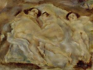 Trois nus-three nudes. 1931. by Jules Pascin