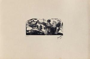 W01 - La zone by Jules Pascin