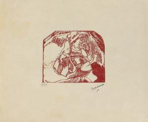 W02 - Les Montmartroises by Jules Pascin