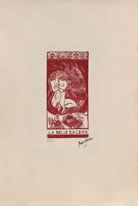 W04 - La belle Zuleica by Jules Pascin