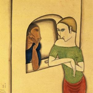 Woman Sitting, 1925-26 by Jules Pascin