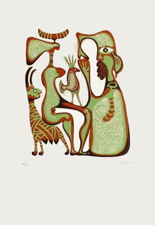 Composition Surrealiste II