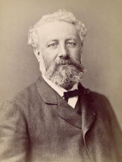 Jules Verne, French Novelist--Photographic Print