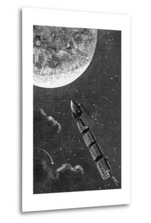 Illustration from From the Earth to the Moon