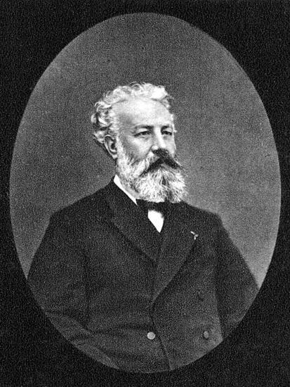 Jules Verne--Photographic Print