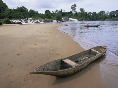 Chutes De La Lobe, Southern Area, Cameroon, Africa