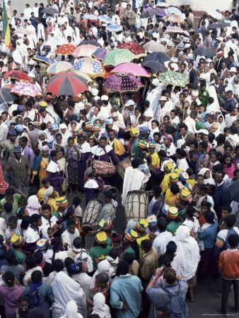 Timket, Gondar, Ethiopia, Africa