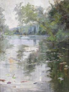 Nénuphars, Water Lilies by Julia Beck