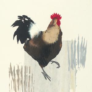 Cockerel by Julia Burns