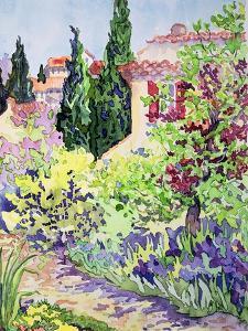 Garden at Vaison by Julia Gibson