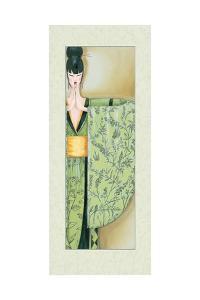 Geisha Girl I by Julia Hawkins