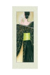 Geisha Girl III by Julia Hawkins
