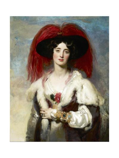 Julia, Lady Peel-Thomas Lawrence-Giclee Print