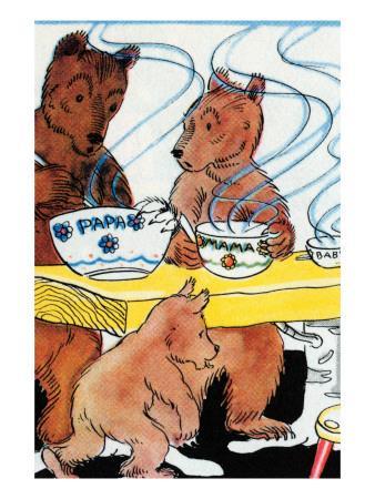 Bears Discover the Porridge
