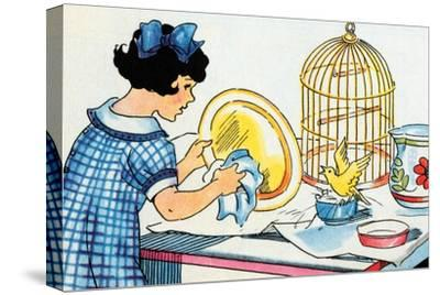 Cleaning the Birdcage