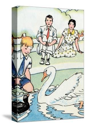Feeding the Swan