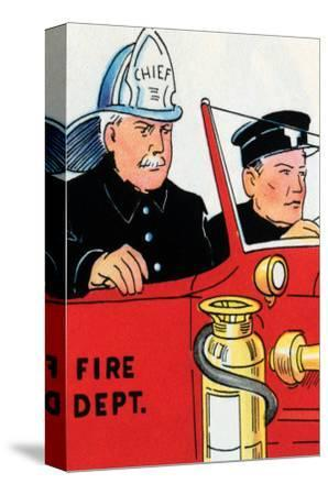 Fire Chief And Driver