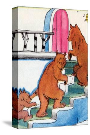 Three Bears Go Upstairs