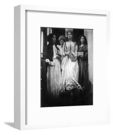 Illustration for 'The Princess' by Alfred, Lord Tennyson, 1875 (Albumen Print)