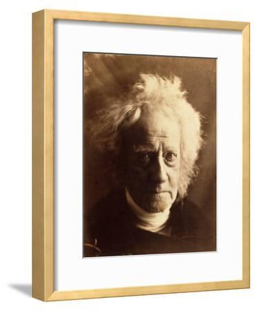 Sir John Herschel, 1867