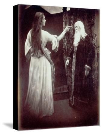 Vivien and Merlin, 1874