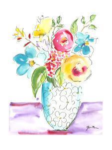 Flower Burst Vase I by Julia Minasian