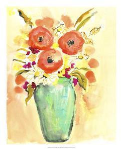 Flower Vase III by Julia Minasian